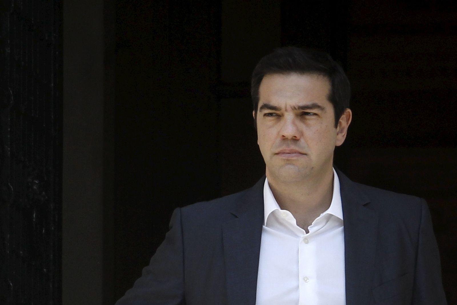 Tsipras Under Pressure