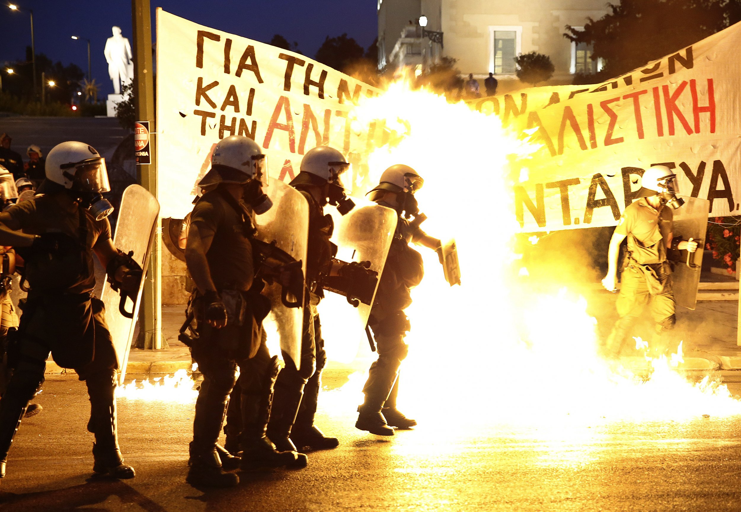 Violence in Athens