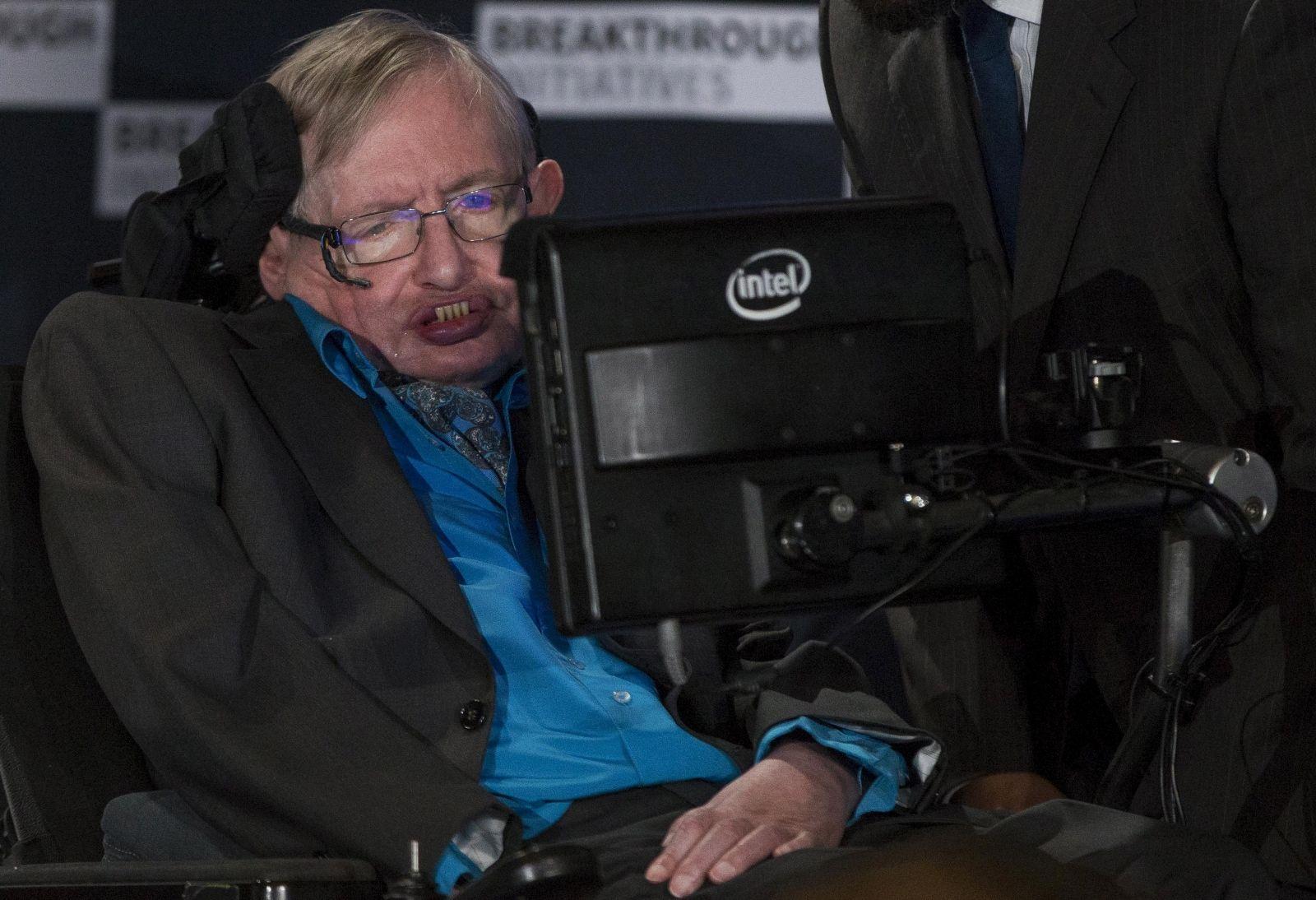 Stephen Hawking alien search
