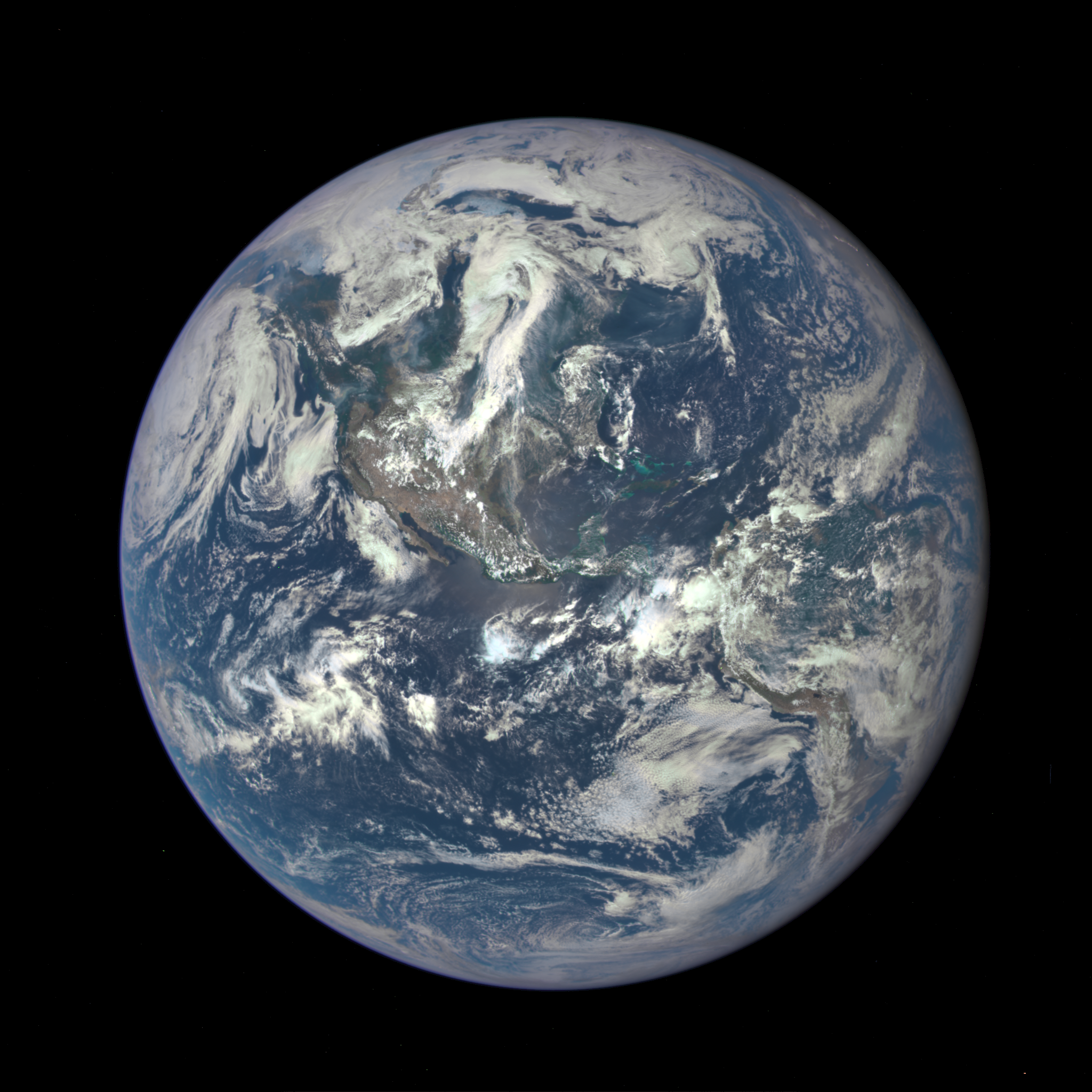 7-21-15 NASA DSCOVR Whole Earth