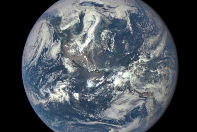 7-21-15 NASA DSCOVR Whole Earth