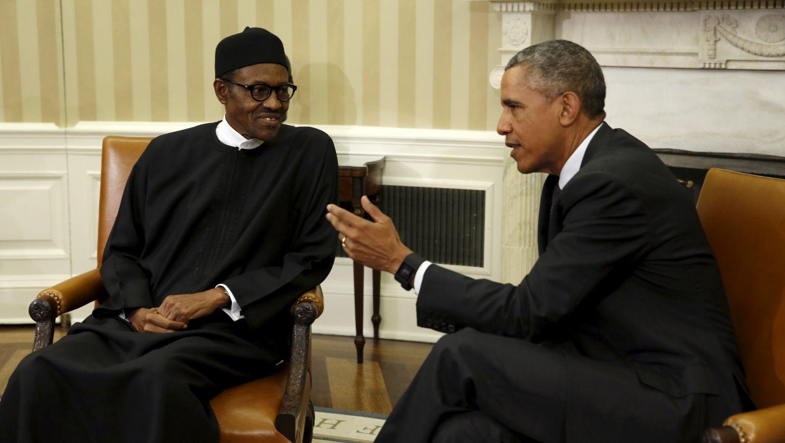 Buhari Obama Nigeria Boko Haram