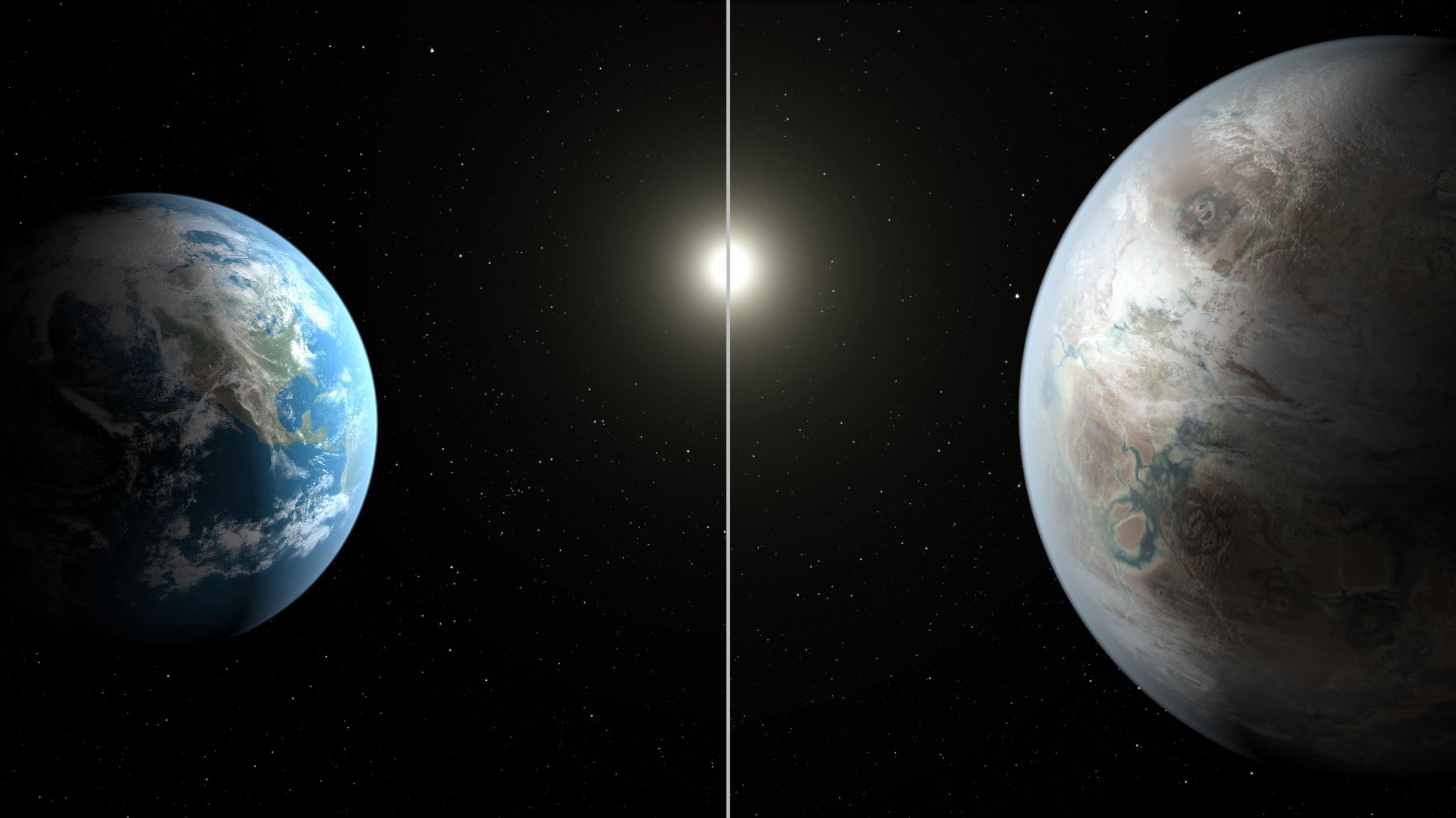 7-23-15 Kepler-452b and Earth