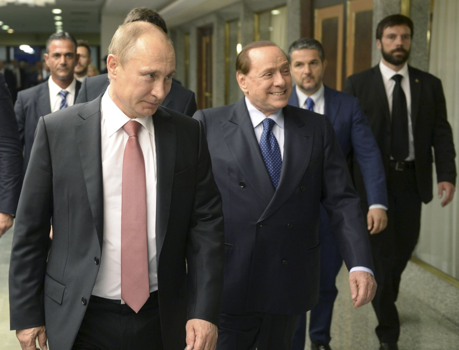 Putin offered Berlusconi job figuratively