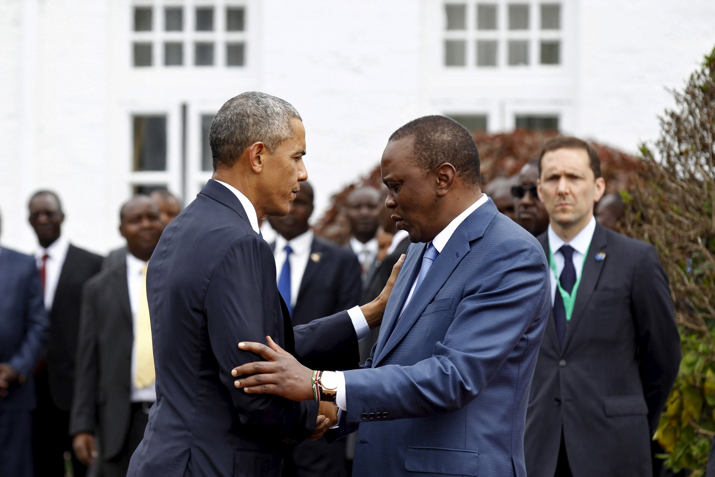 Obama Brings Gay Rights Message to Africa