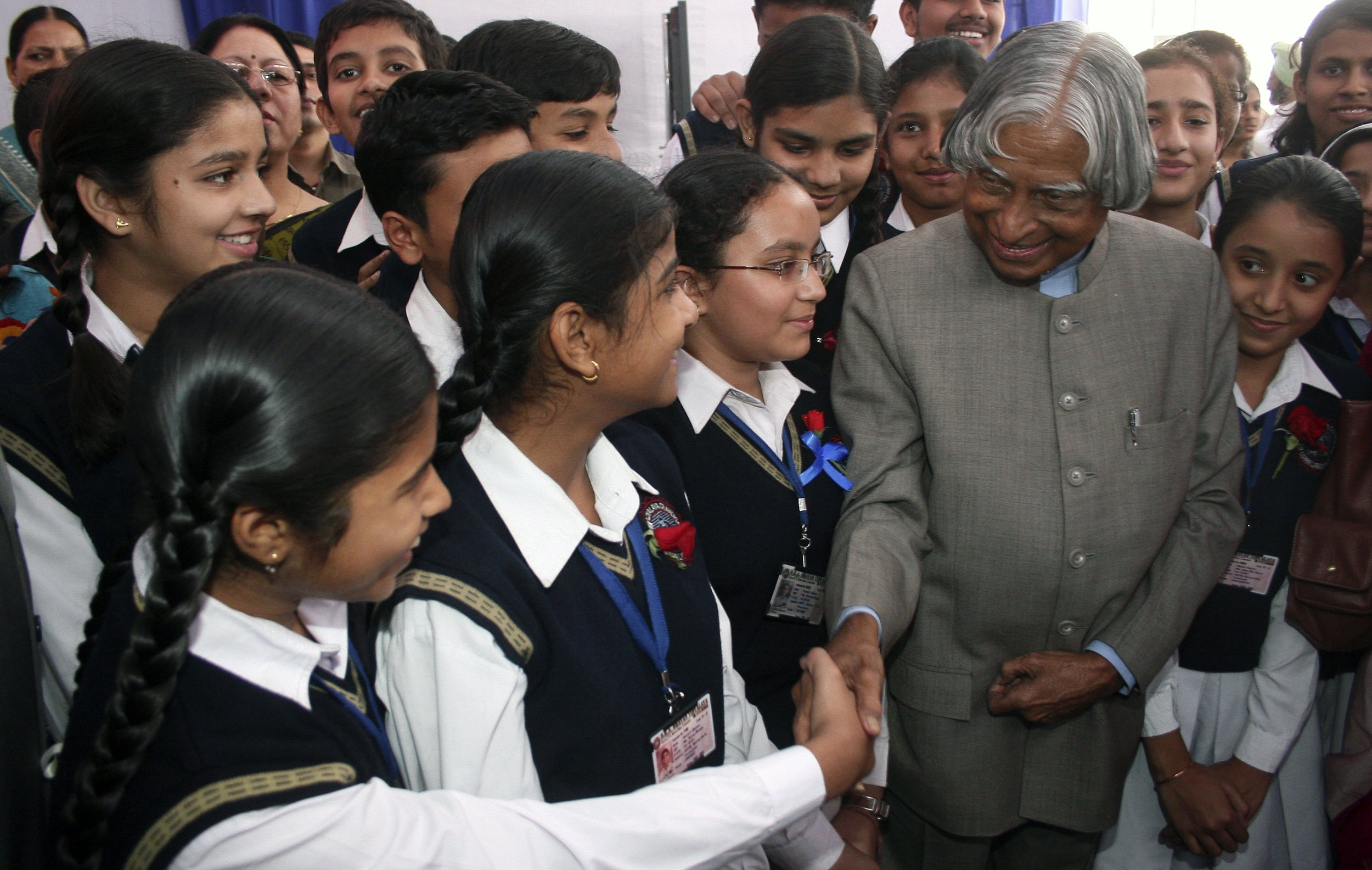 Abdul Kalam, known as the father of India's missile program, dies.