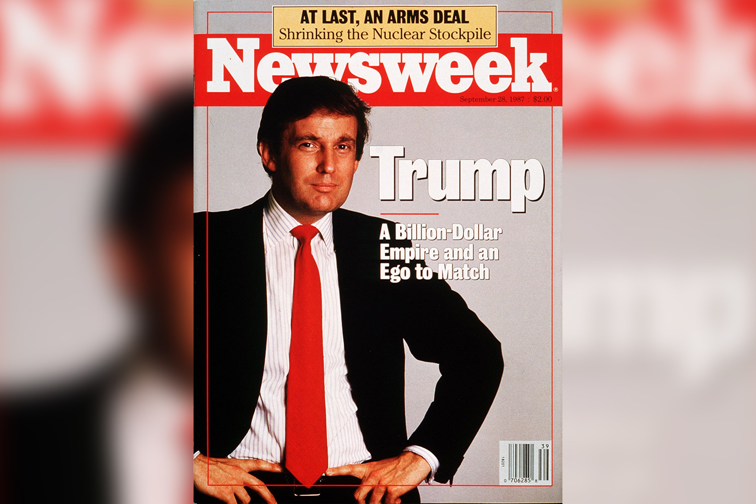 The Other Time Trump Was Huge: Newsweek's 1987 Look at the Presidential  Candidate