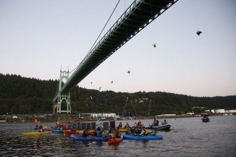 Portland Shell Arctic Drilling Protesters