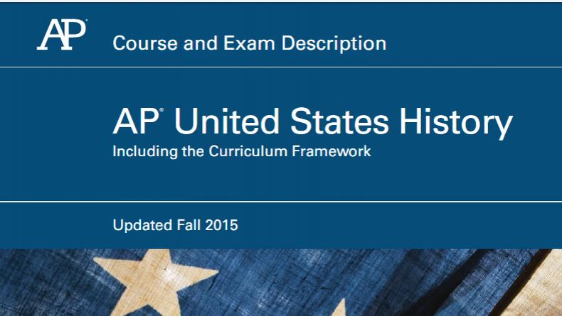 AP US History 2015 Revision