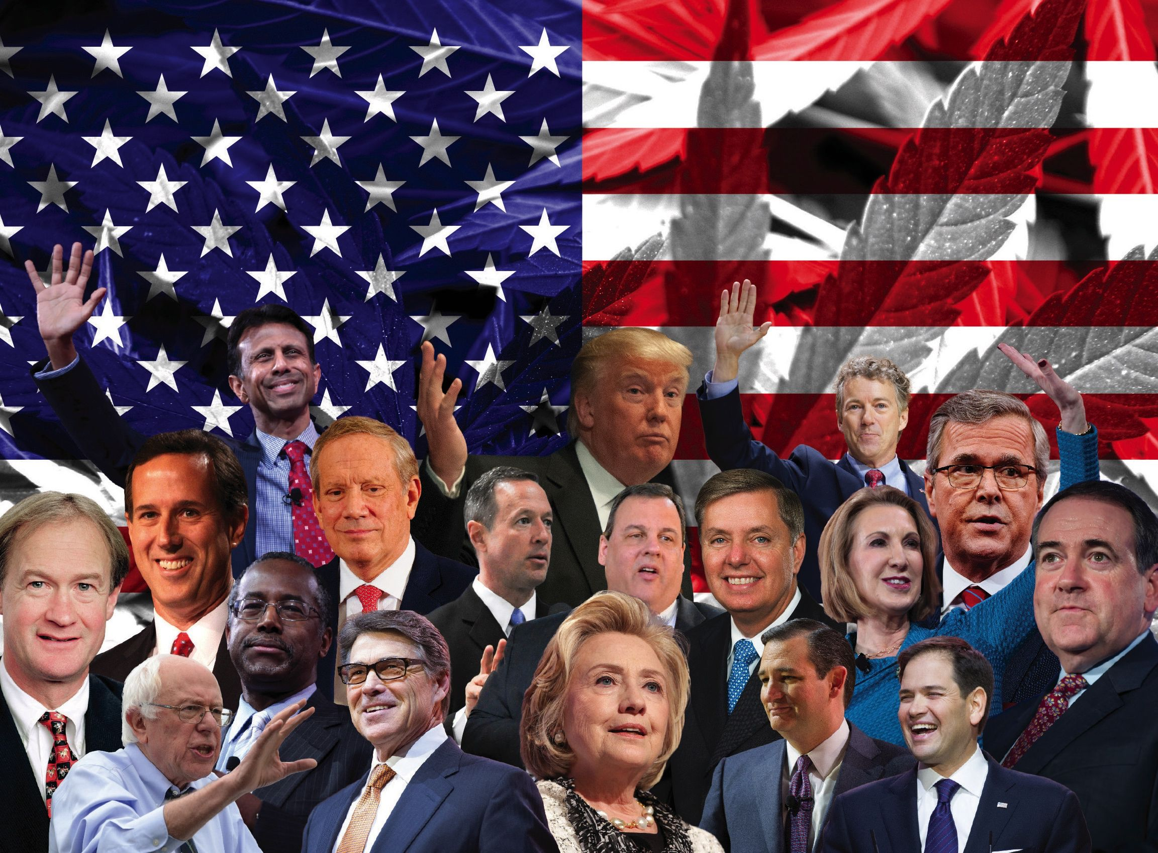 the candidates of the 2016 presidential election As with each presidential election, presidential candidates from the democratic and republican party are naturally pushing hard to win voters to their campaigns.