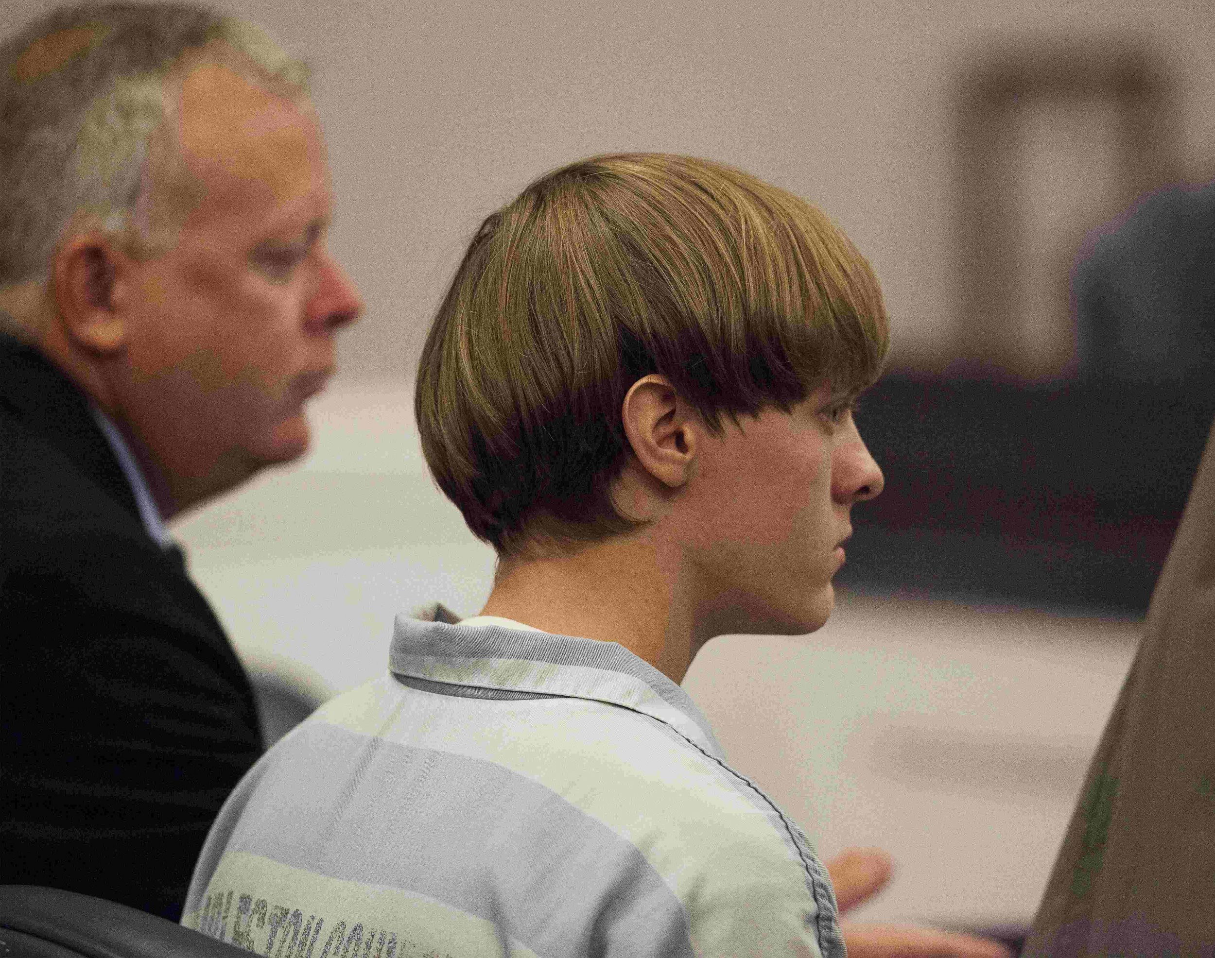 Charleston suspect dylann roof enters not guilty plea