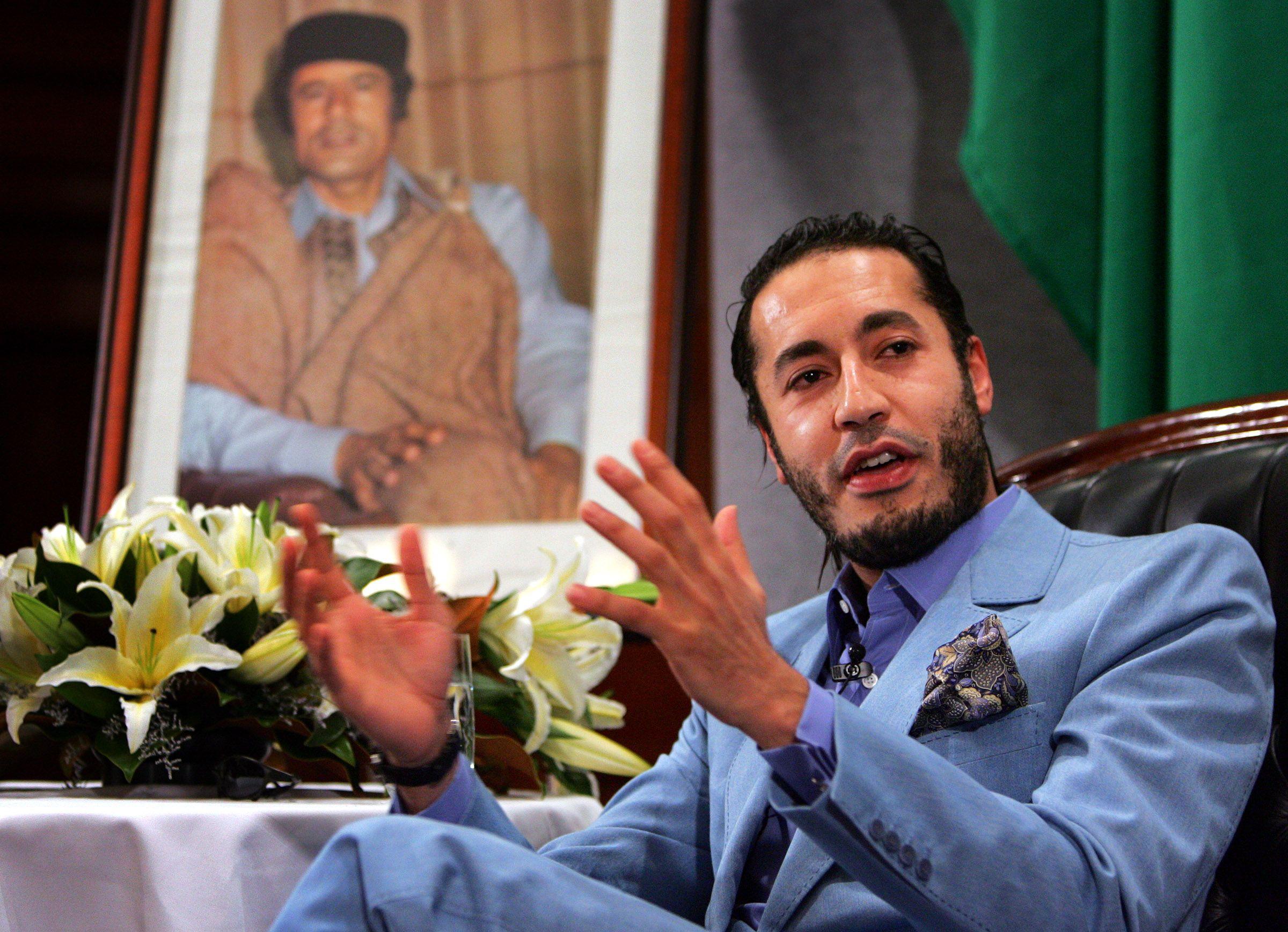 Al Saadi Gaddafi beaten in jail