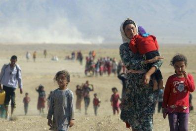Yazidi Sinjar massacre anniversary