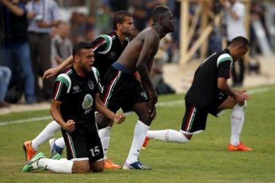 Gaza Israel Football West Bank Hebron