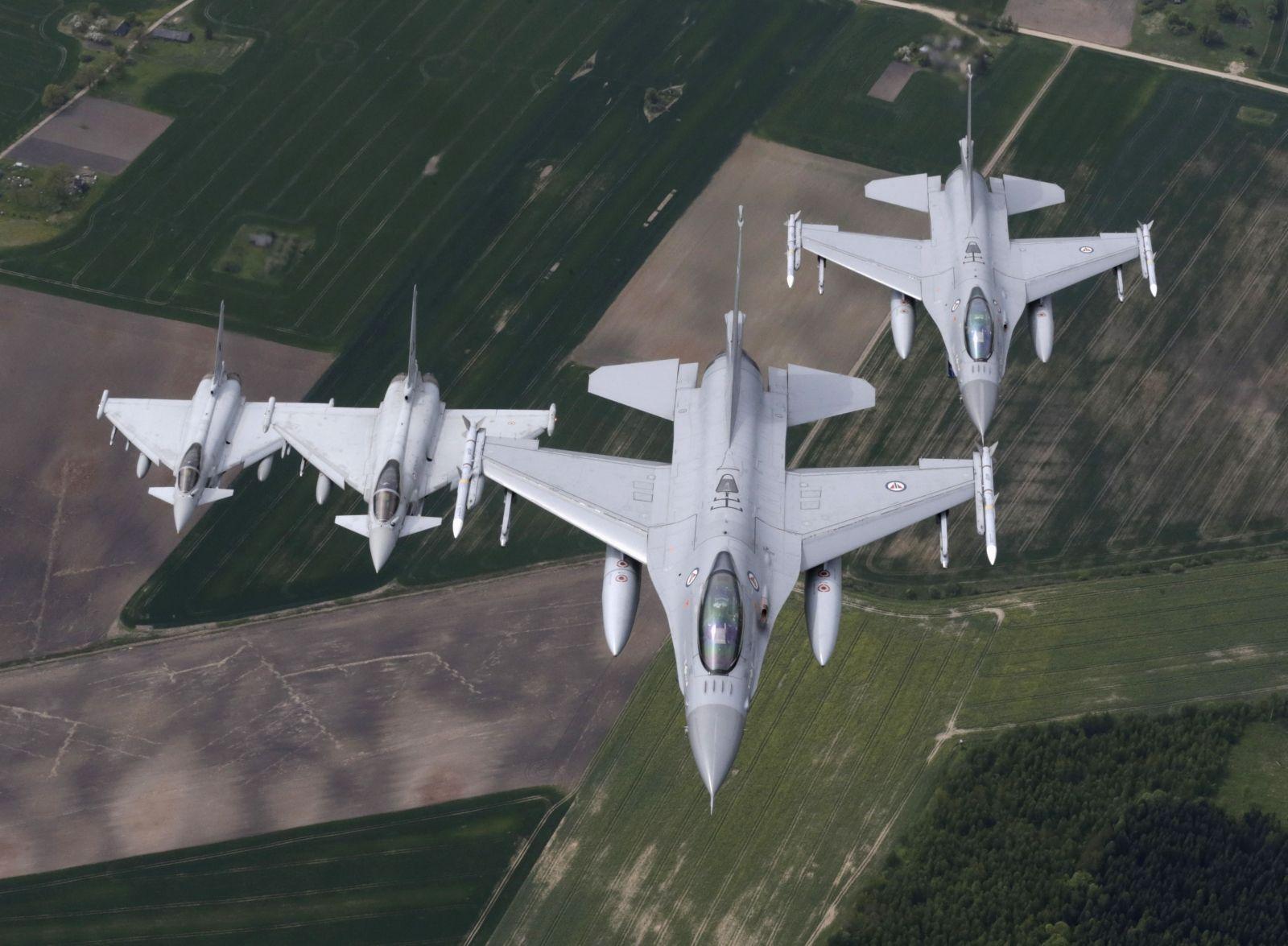 NATO halves baltic air police jets