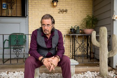 Pacino in Manglehorn