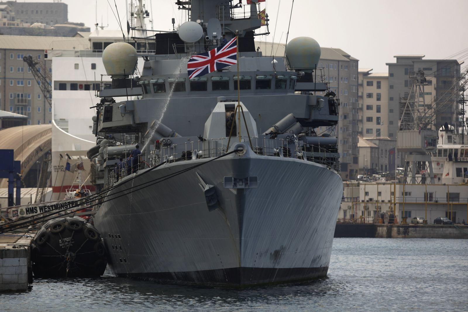 HMS Westminster Royal Navy