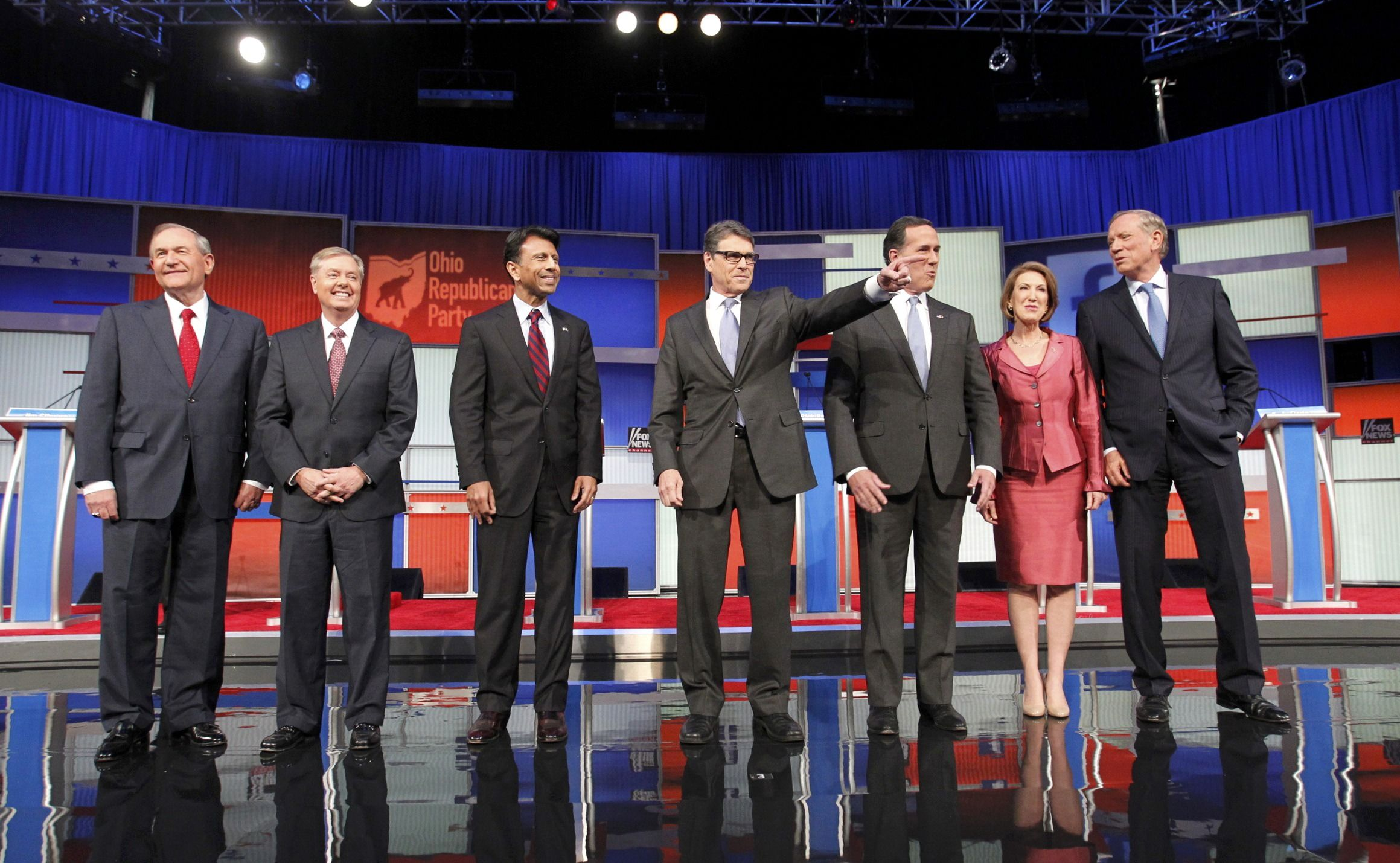 Second-Tier Candidates Square Off Before Main Republican ...