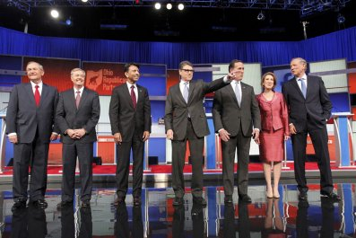 the early republican debate