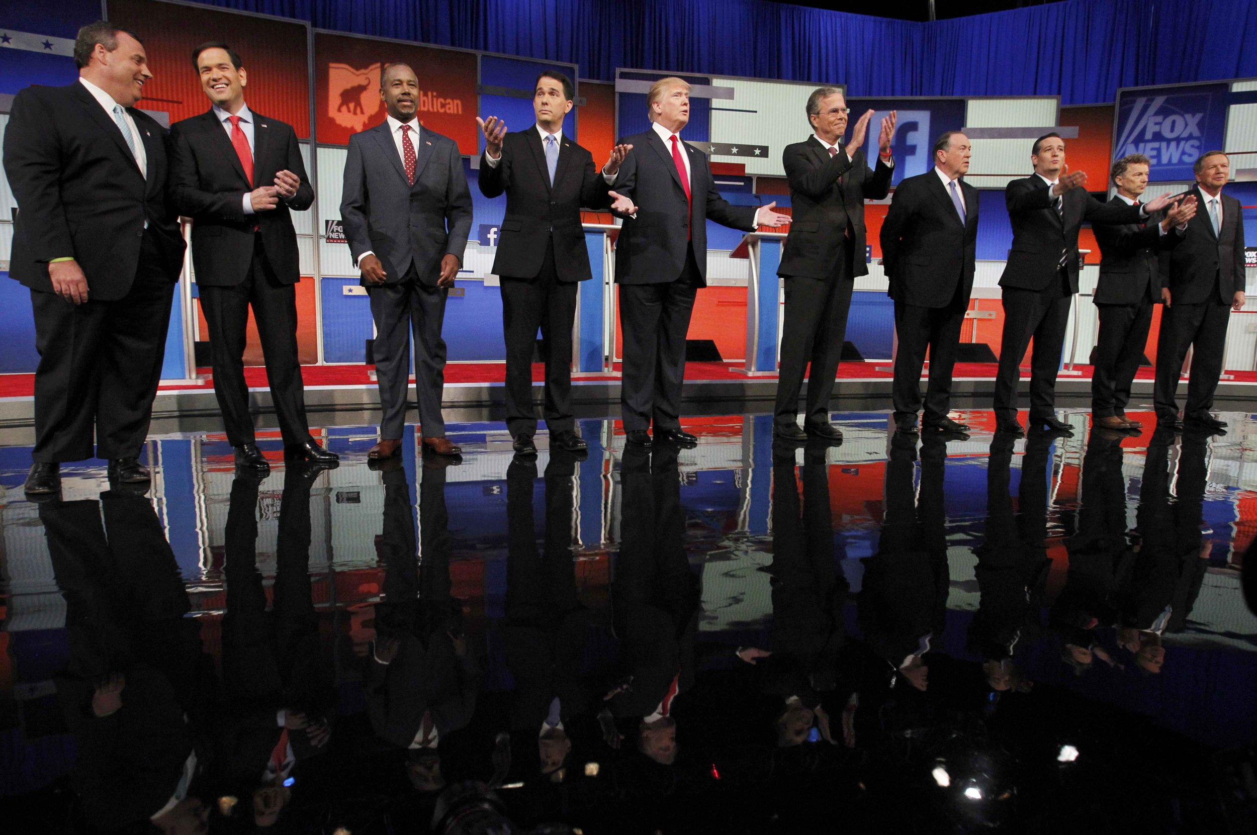 2016 Republican Presidential Candidates Come Out Strong in