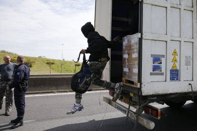 Migrants at Calais