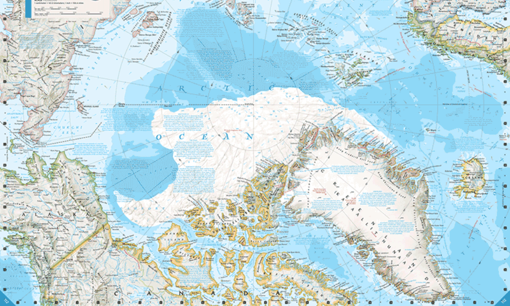 Arctic Ice Melt NatGeo Atlas Changes