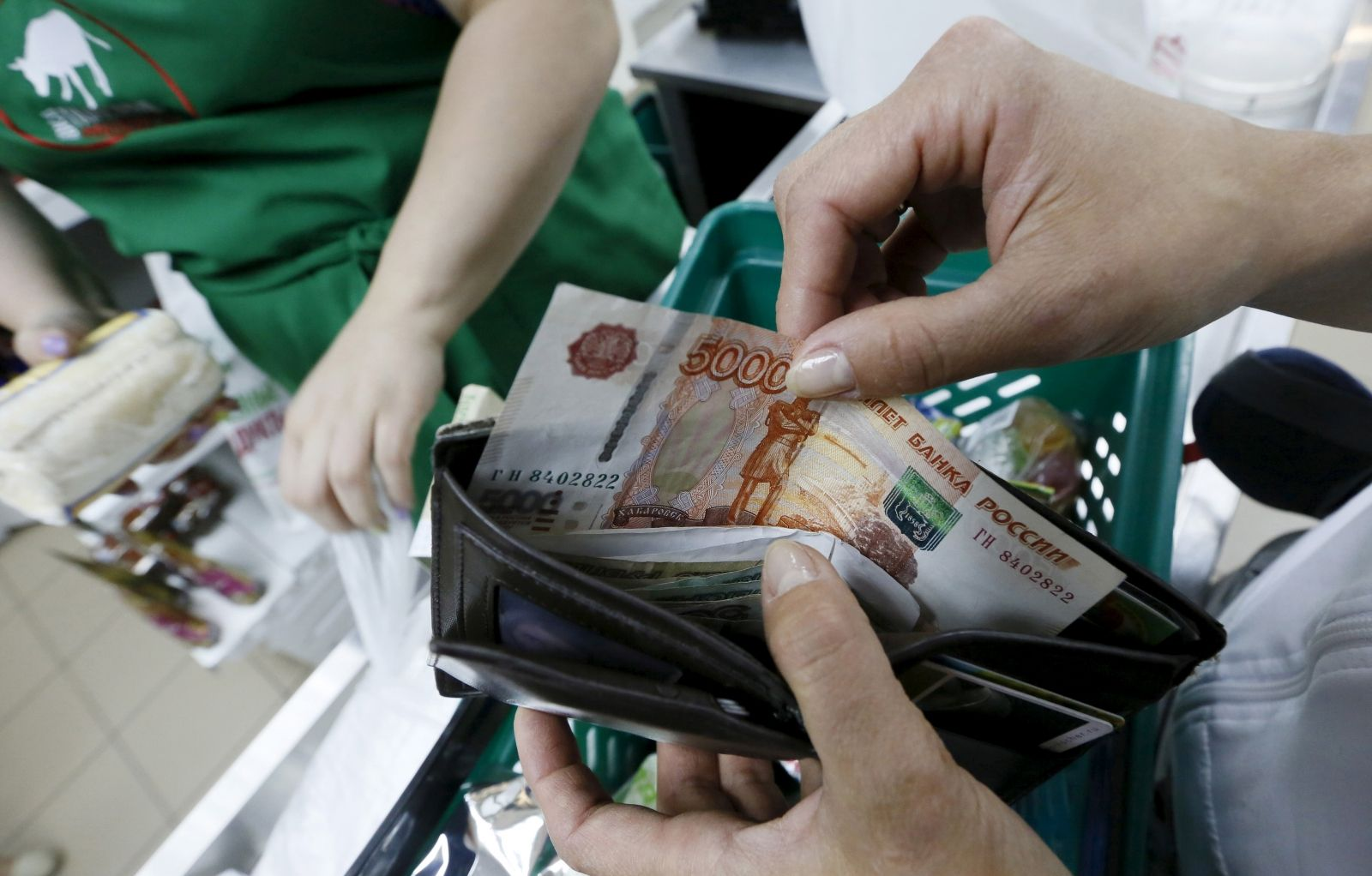 Russian economy shrinks recession