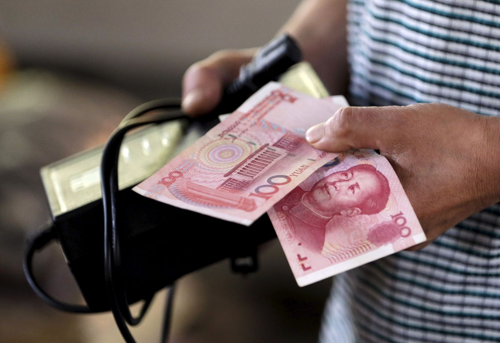 China yuan devaluation