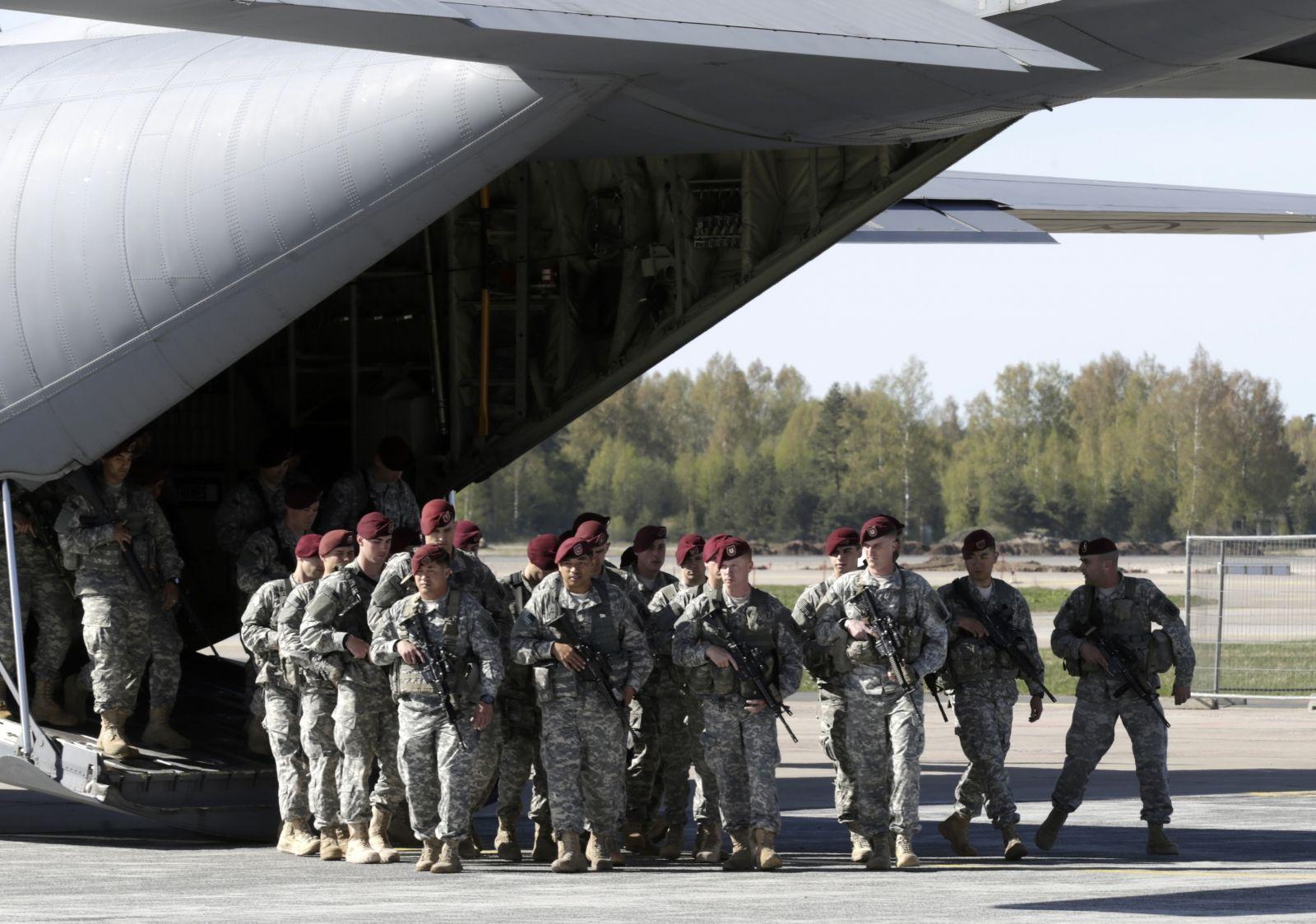 NATO Russia drills increase risk of war