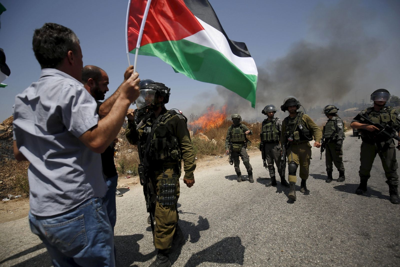 Israel soldiers West Bank