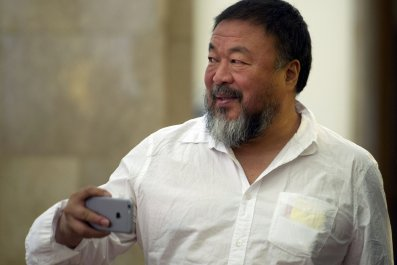 Chinese artist Ai Weiwei