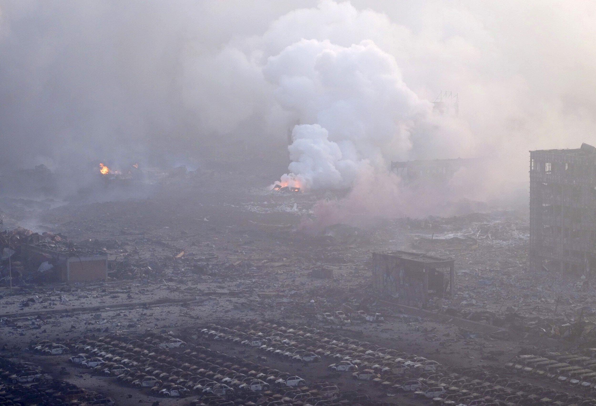 tianjin china explosion