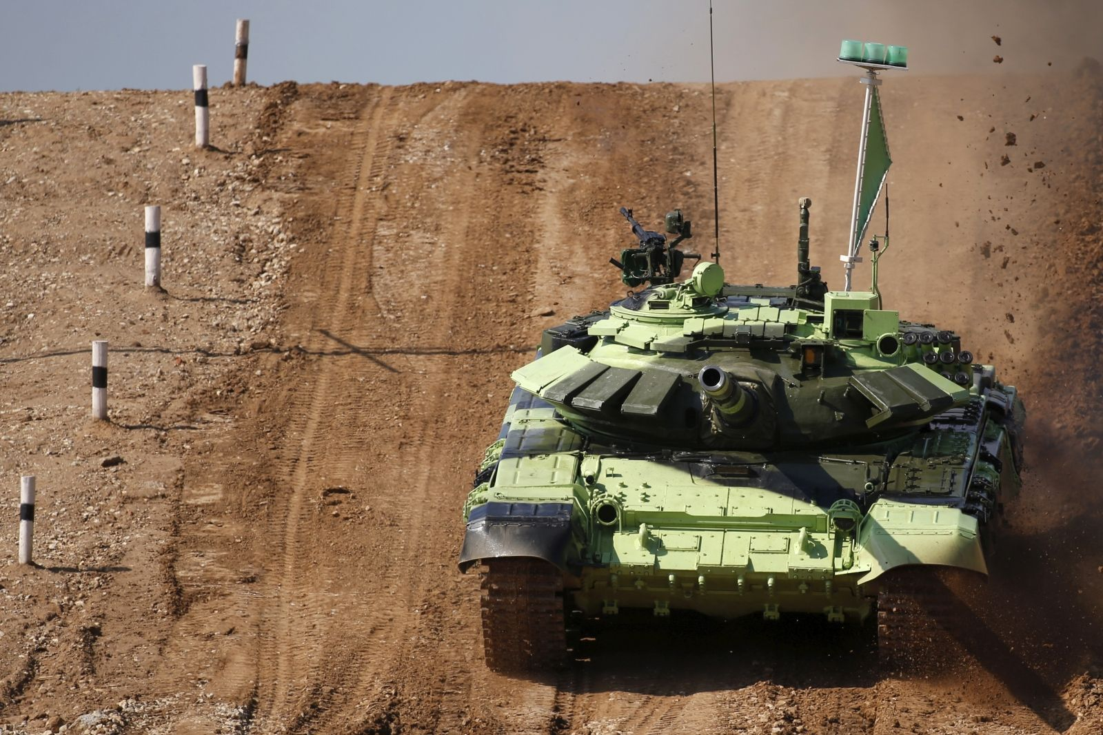 Russia Military Games Tank Biathlon