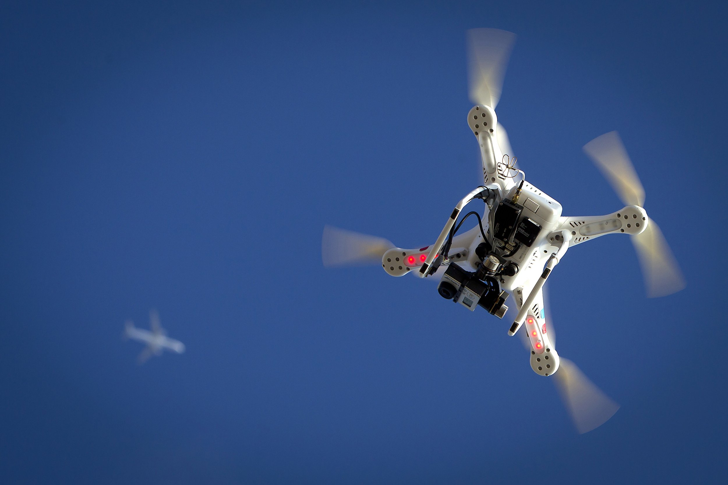 is it legal to shoot down a drone hovering over your property