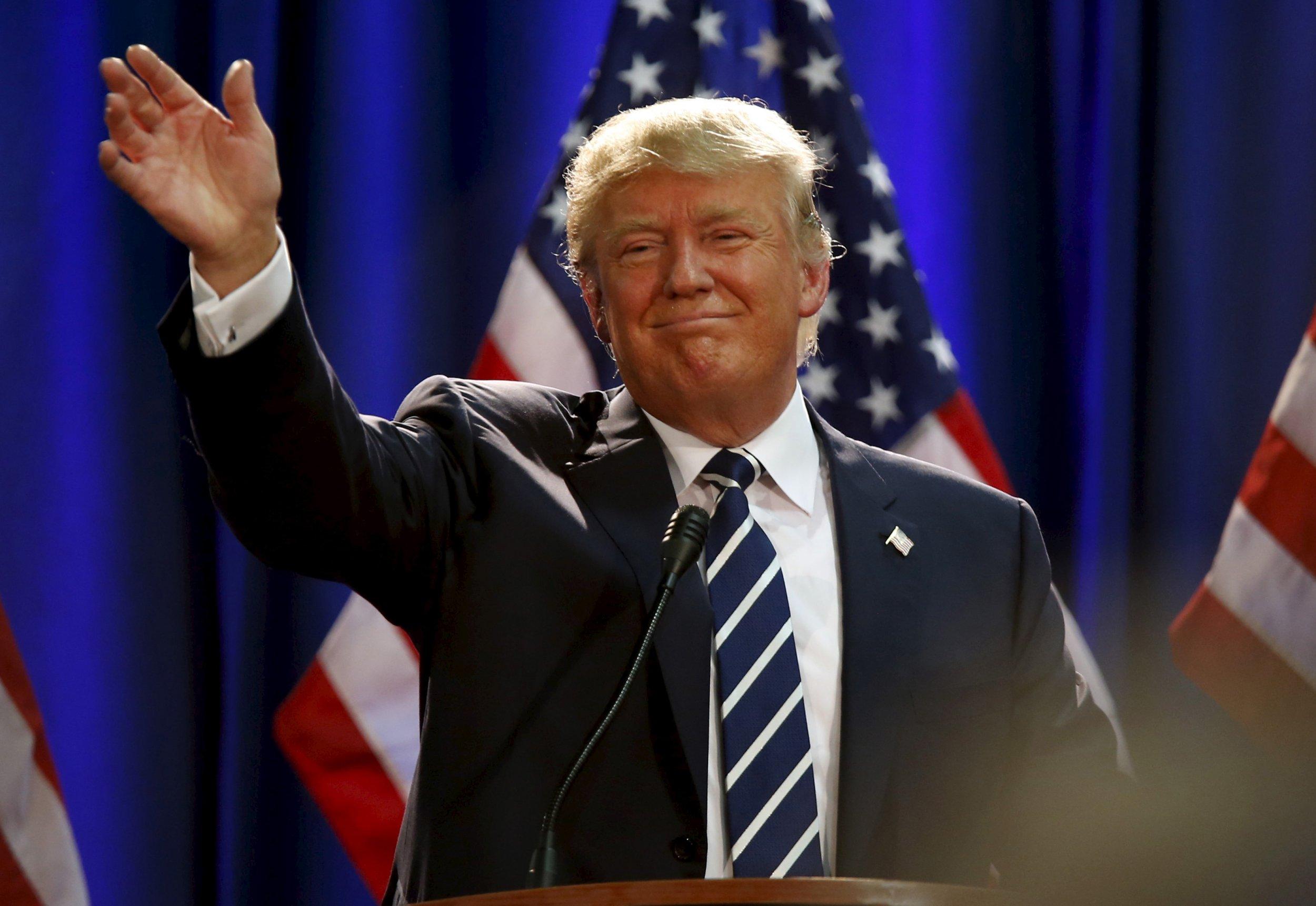 Donald Trump Arrives for NYC Jury Duty
