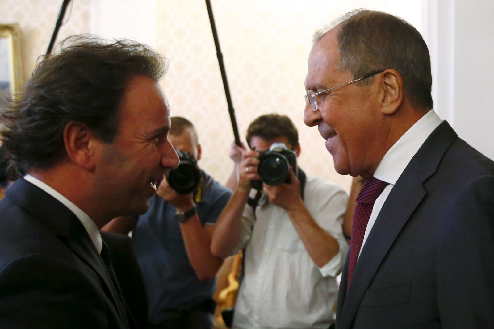 Lavrov meets Syrian opposition