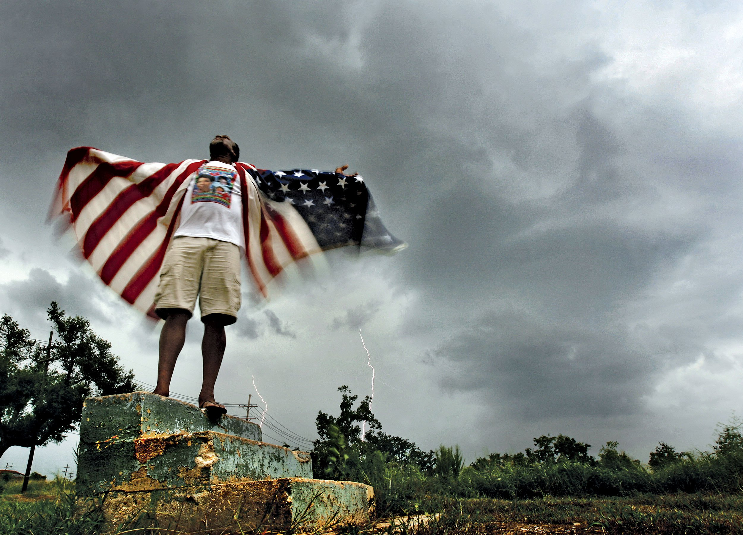 hurricane katrina was a man made and The worst of katrina was an act of man, not an act of god i heard something like that from every local i encountered in new orleans earlier this year no matter their age, race or religion, the.