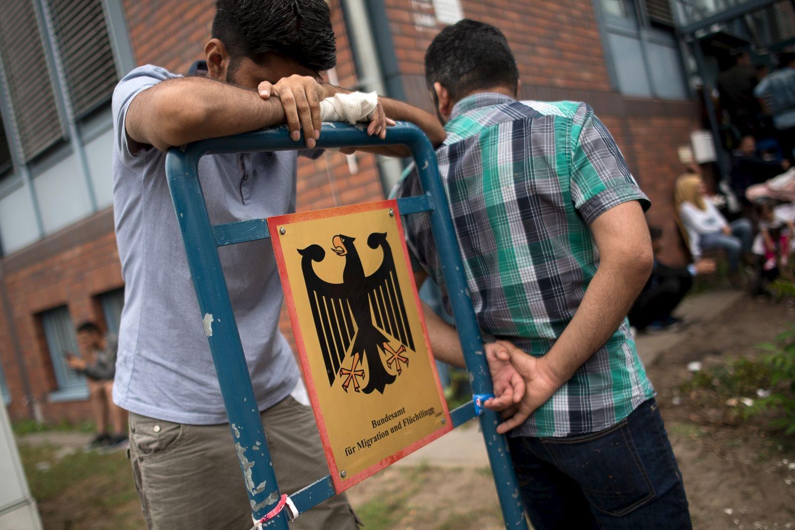 German asylum seekers