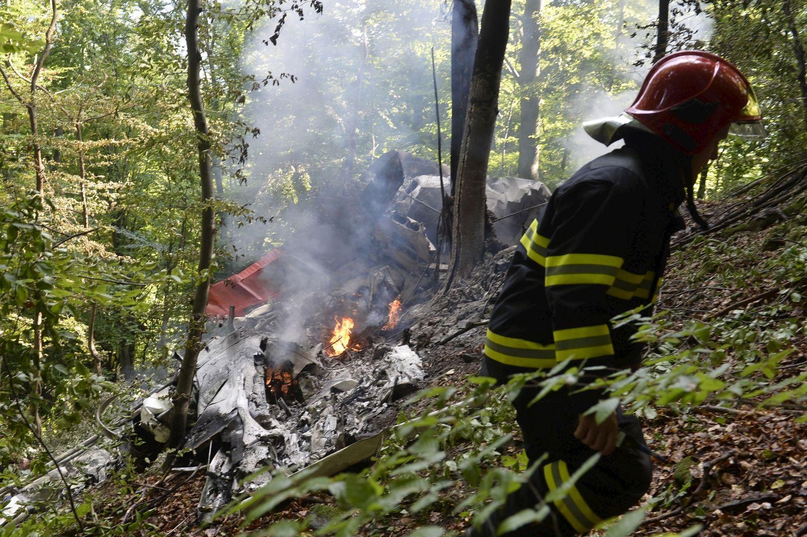 Slovakia air crash