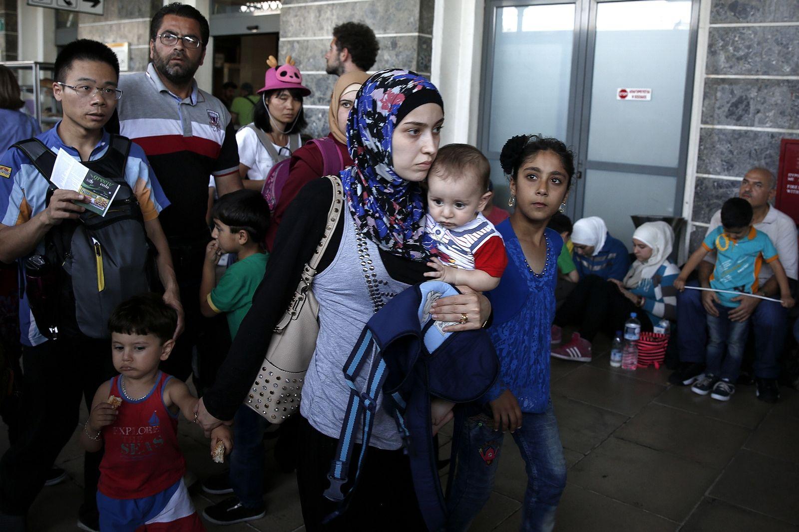 Slovakia Christian asylum seekers
