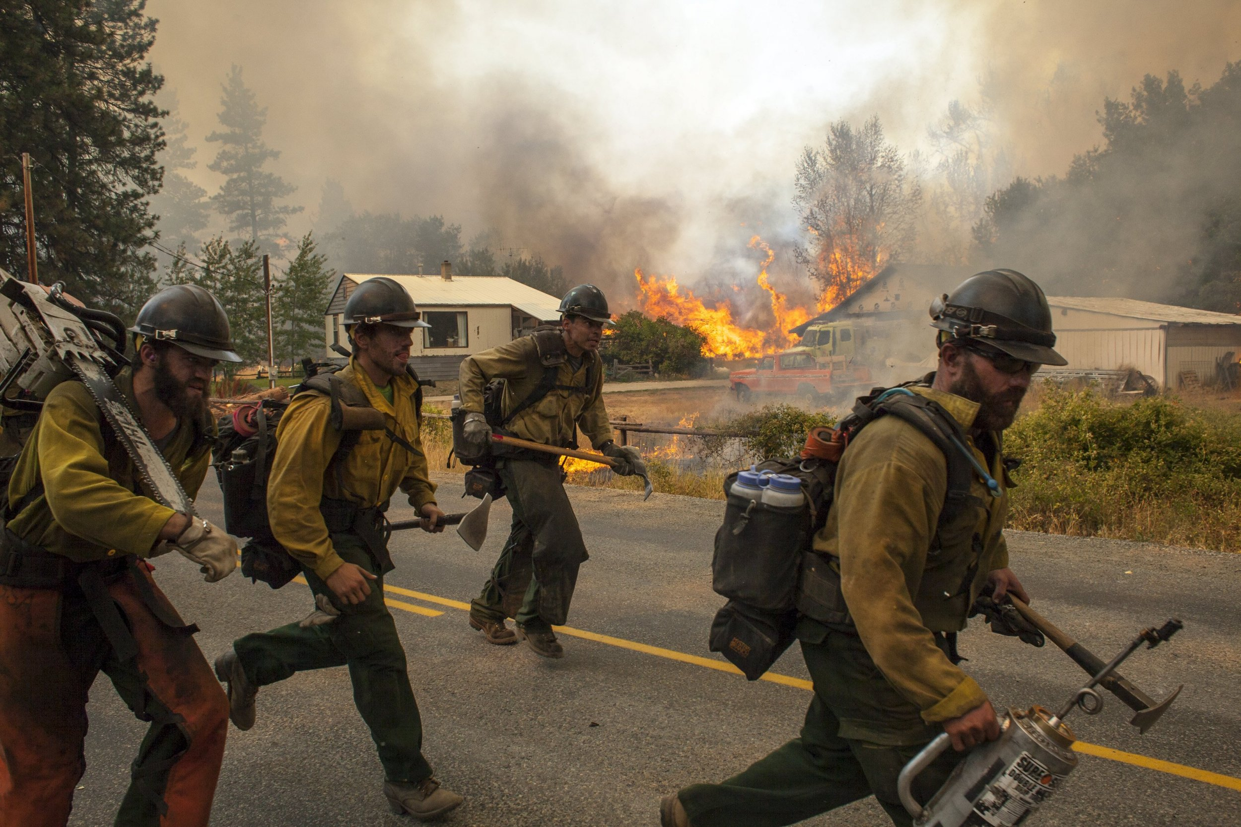 Washington State Wildfires Obama Declares State Of