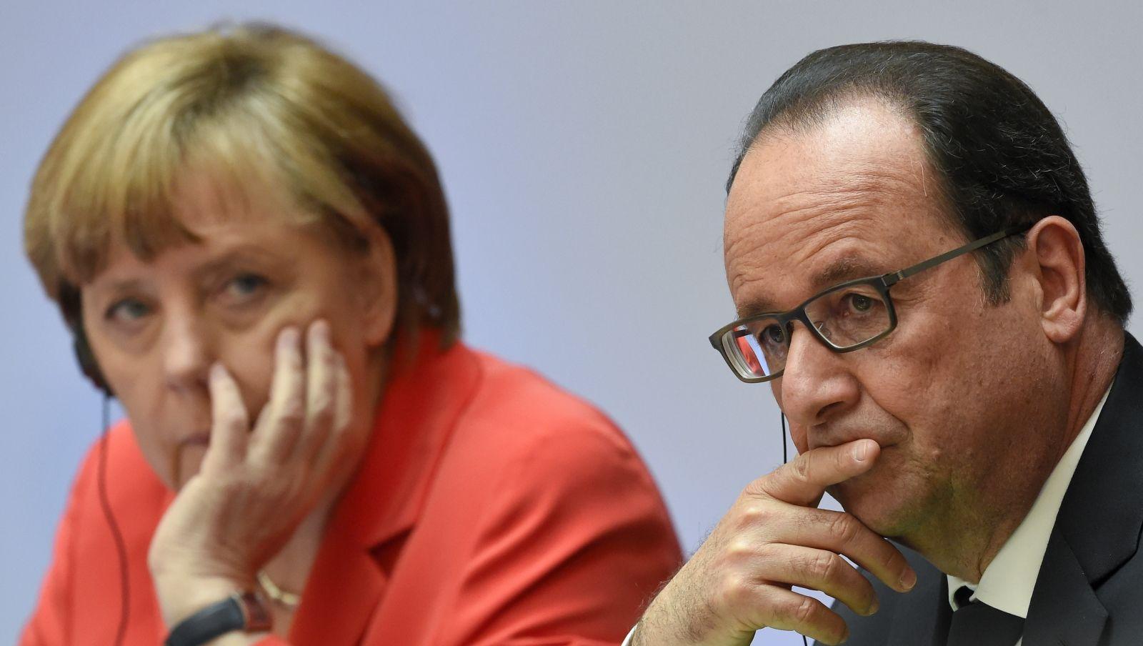 Merkel and Hollande to meet