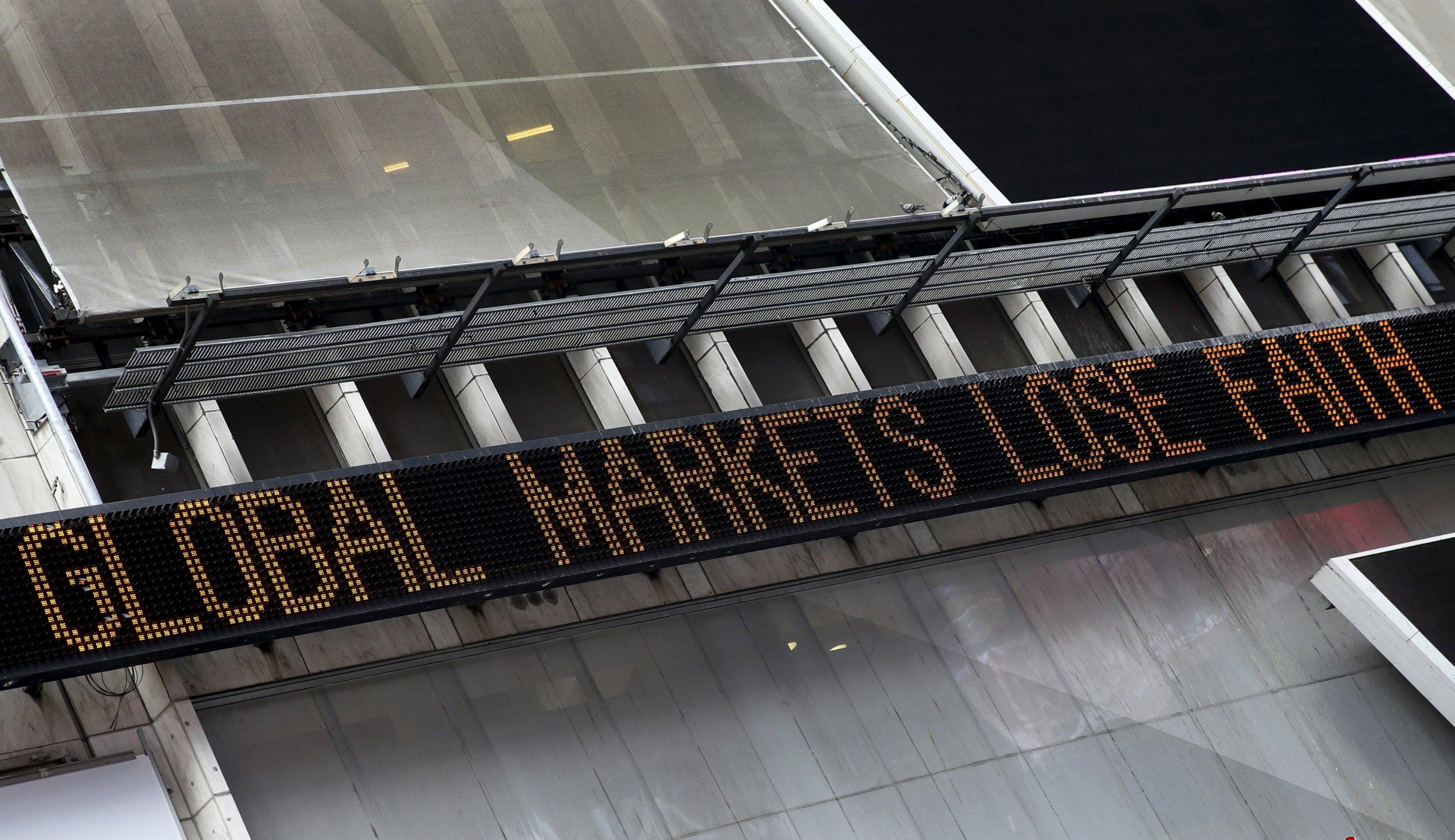 global stocks plummet