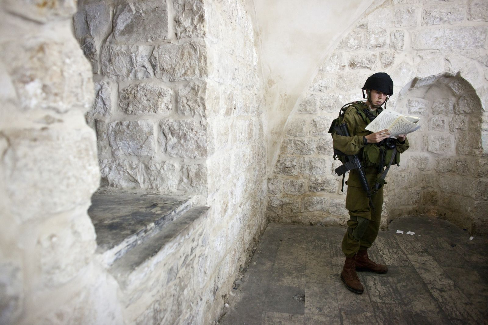 Israel soldier Joseph's Tomb