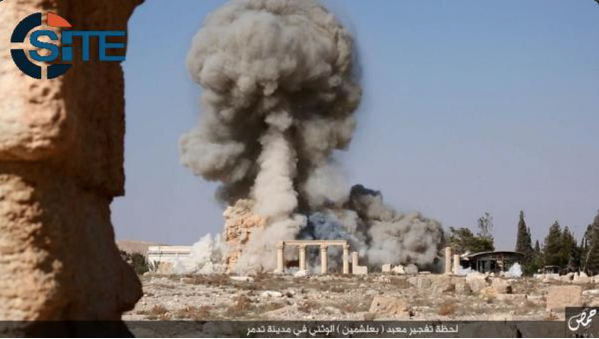 ISIS Bombing Palmyra