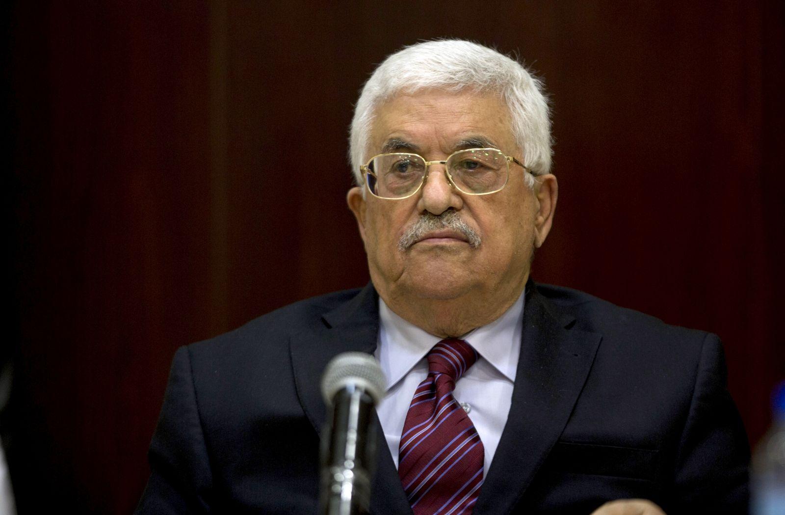 Mahmoud Abbas Palestine palace