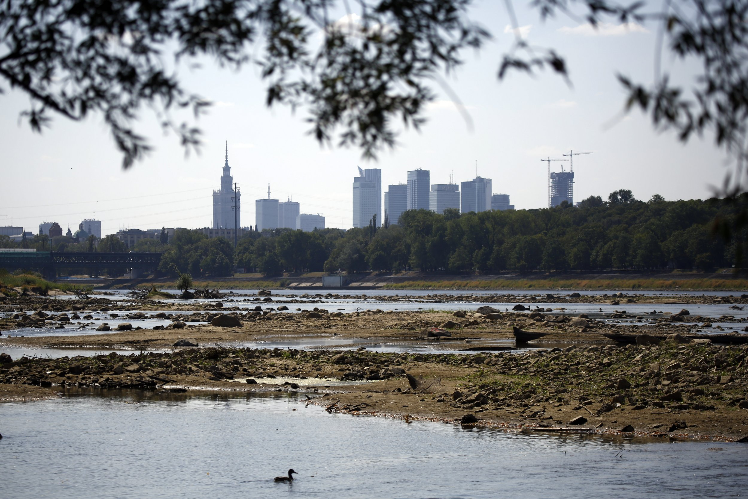 Drought in Poland Reveals World War II Artifacts in River
