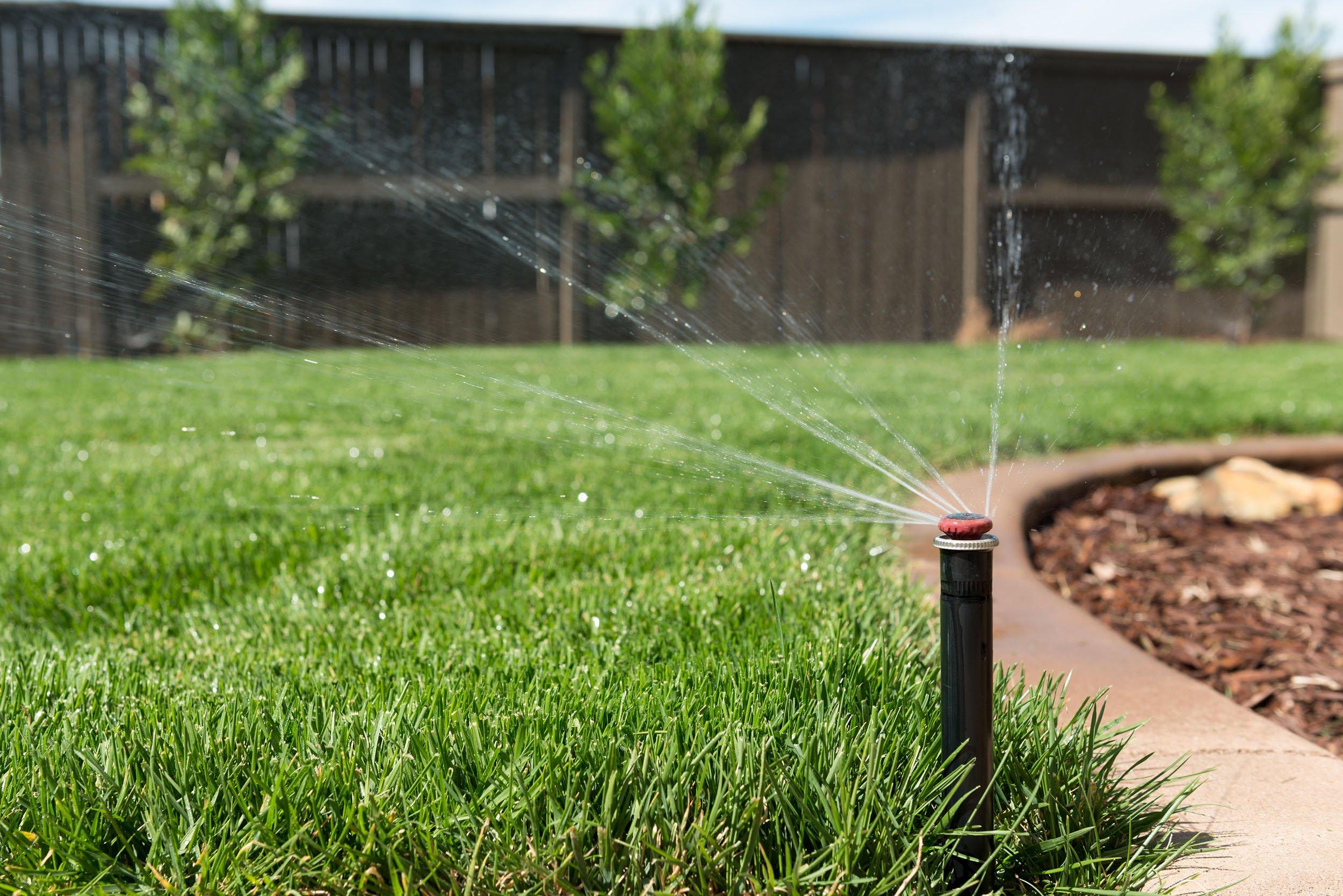 when should i stop watering my lawn in utah