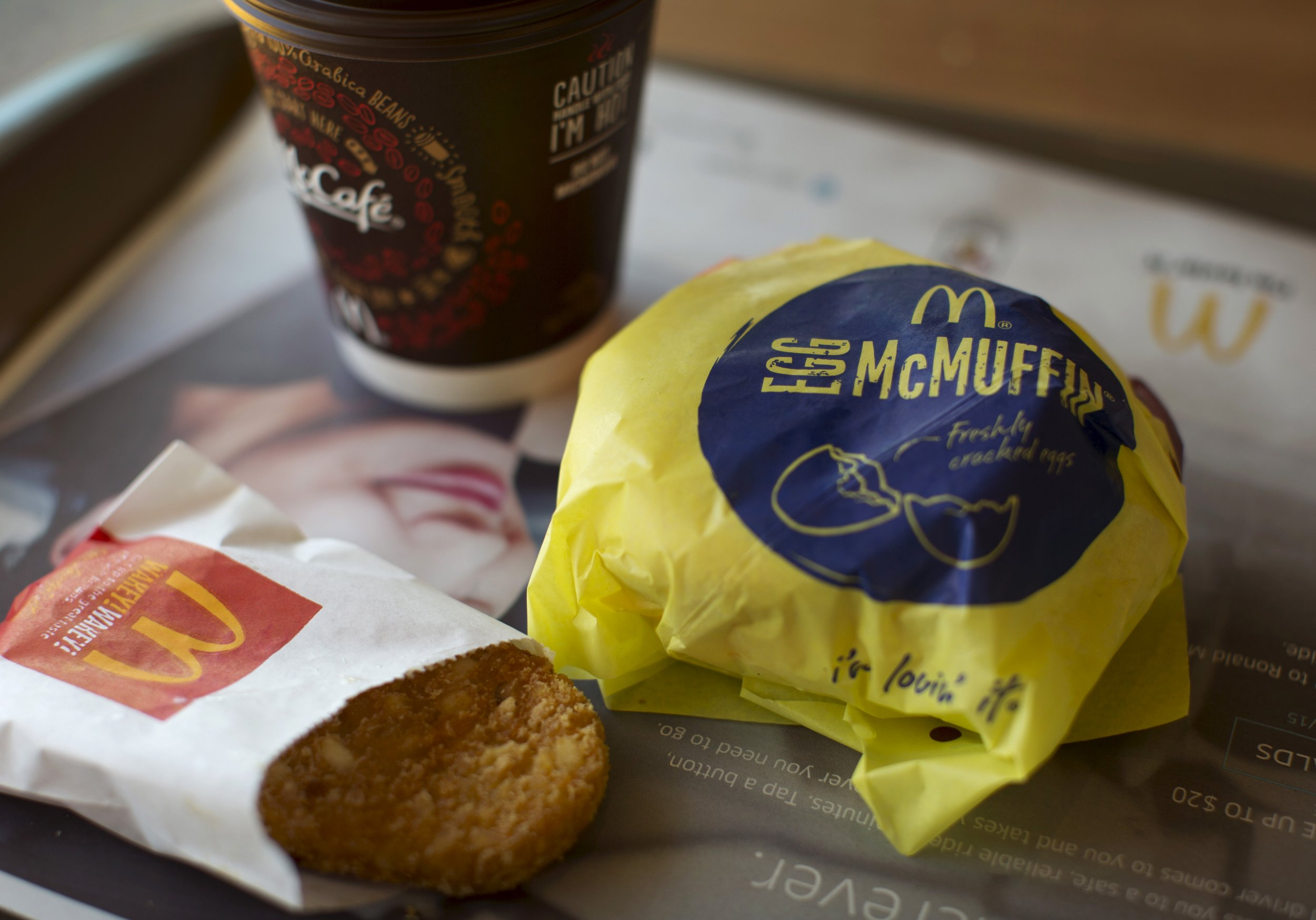 An Egg McMuffin