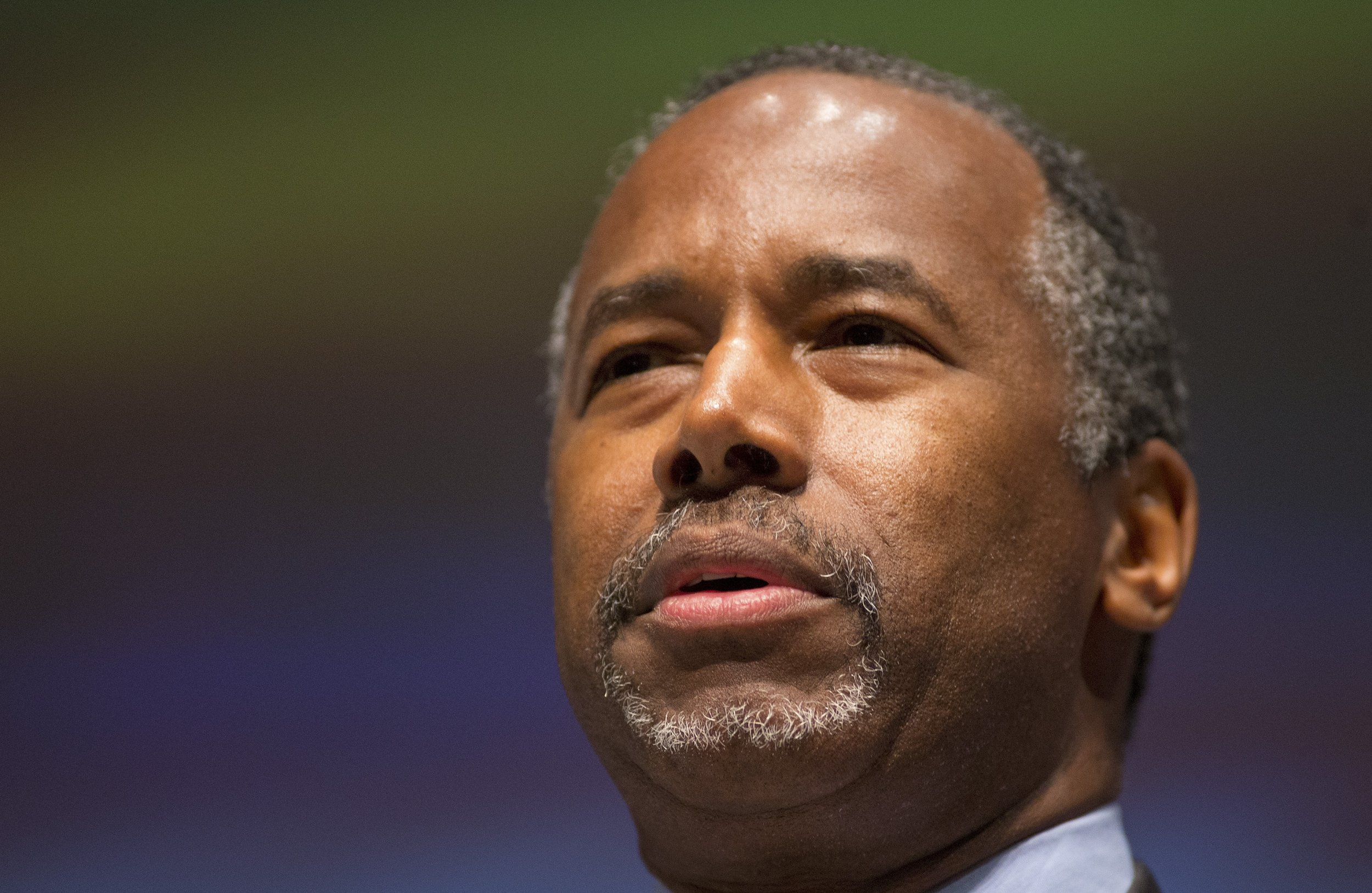 With soft spoken style ben carson catches donald trump in for The carson